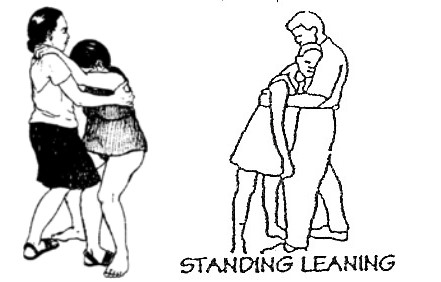 standing-leaning